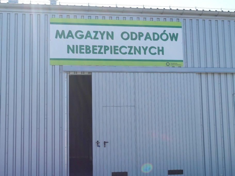 Magazyn Odpadów niebezpiecznych