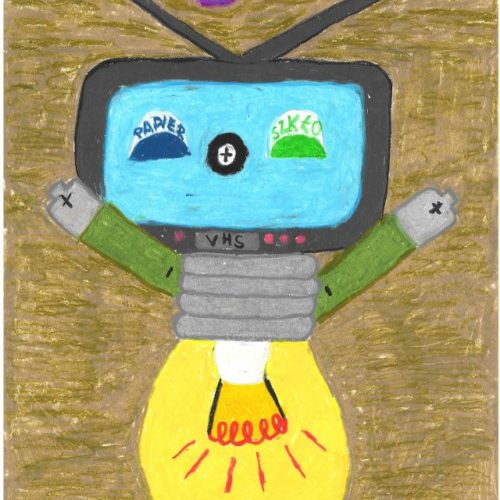 """Rysunek przedstawiający """"Recyklusia"""""""