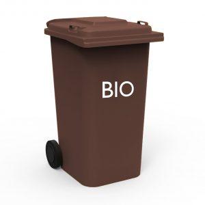 Pojemnik na odpady bio