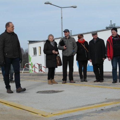 Samorządowcy z gminy Chocianów w minioną środę zwiedzali Centralny Punkt Selektywnego Zbierania Odpadów Komunalnych