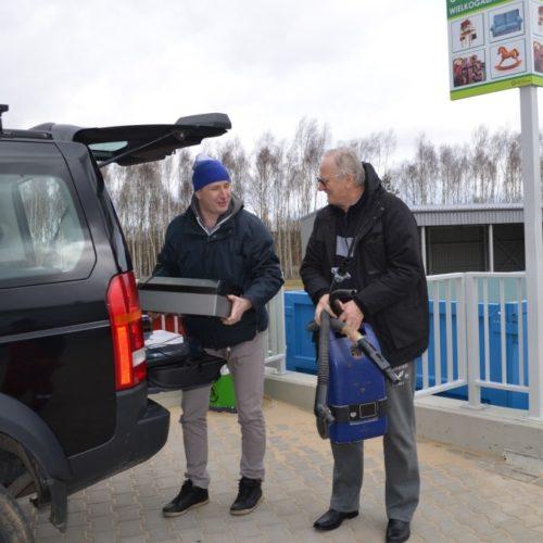 Pierwsi mieszkańcy odwiedzili Centralny PSZOK