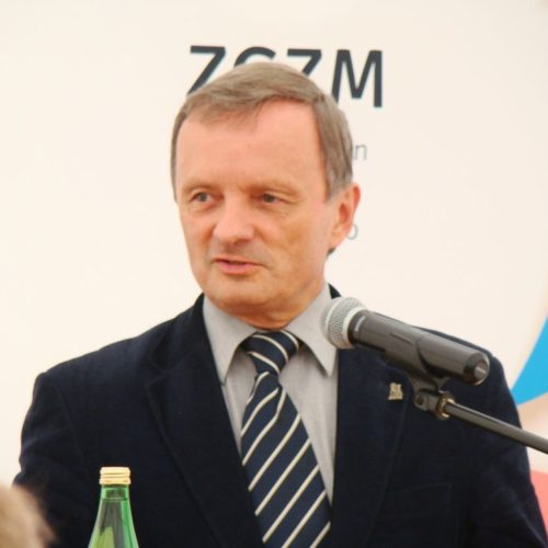 Goście na otwarciu PSZOK w Polkowicach