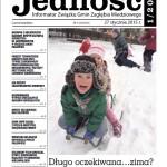 okładka magazynu jedność