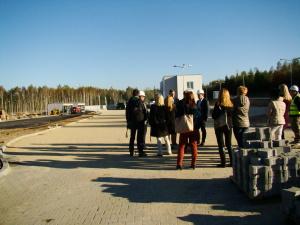 Spotkanie doradców i inwestora z wykonawcami obiektu.