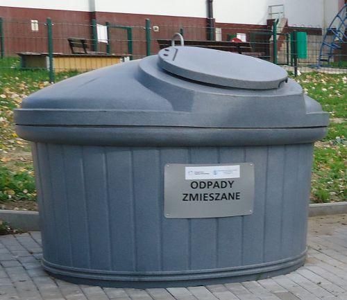 Kontener na odpady zmieszane