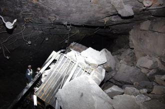 rumowisko po wypadku w kopalni Rudna