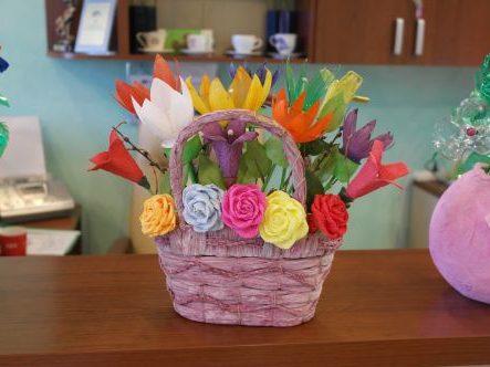Kwiaty sztuczne ale piękne!