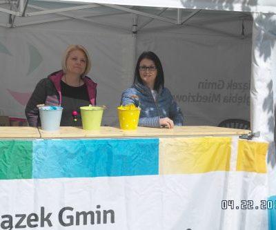 Nasza ekipa w osobach Dagmary Dobroć-Śnioszek (z prawej), Agnieszki Gruszczyńskiej i - robiącej zdjęcie -Mirki Bożyńskiej w turniejowej gotowości.
