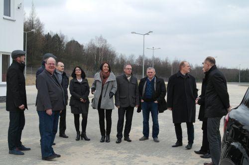 Prezydent Głogowa i szef spółki GPK SITA Głogów gościli z roboczą wizytą w biurze ZGZM