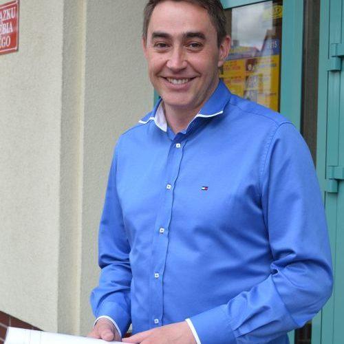 Paweł Wechta, prezes Klubu Sportowego Polkowice