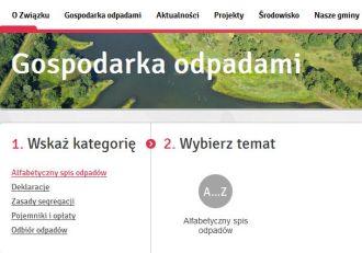 """Alfabetyczny spis odpadów"""" - to nowość na naszym portalu"""